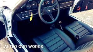 old porsche interior 1980 porsche 911 sc targa interior restoration youtube
