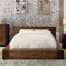 Low Platform Bed Diy by Best 25 Rustic Platform Bed Ideas On Pinterest Platform Bed
