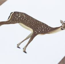 giclee print deer nice to have store