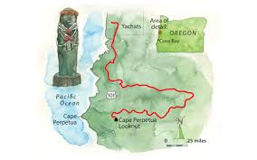 Map Oregon Coast by Oregon U0027s Trail Of Tears Sierra Club