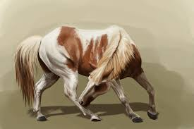 painted myself a paint horse by apfelgriebs on deviantart