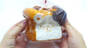 toast emoji rilakkuma toast emoji bun peach u0026 shortcake squishy youtube