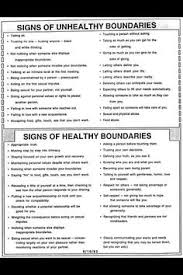 Healthy And Unhealthy Relationships Worksheets The Guide To Setting Healthy Boundaries Relationships Therapy