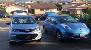 nissan leaf gen 2 video 2 comparing new chevy bolt to 2014 nissan leaf youtube