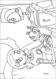 rodney baby robot coloring pages hellokids