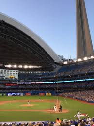 rogers centre section 124l home of toronto blue jays toronto