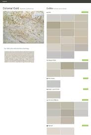 colonial gold granite collection natural stone slabs daltile
