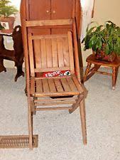wooden folding chairs ebay
