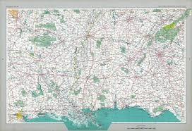 Southern States Of America Map by The National Atlas Of The United States Of America Perry