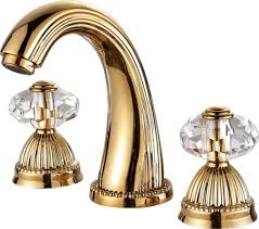 larissa widespread bathroom lavatory sink faucet crystal handles