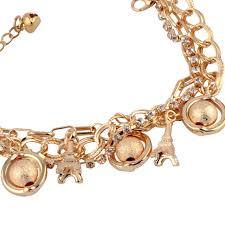 white chain bracelet images Buy n style hamsa hand and white balls diy chain bracelet for jpg