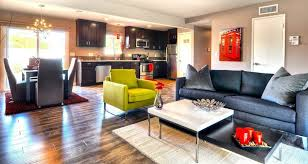 Ikea Stockholm Chandelier Contemporary Great Room With Pendant Light U0026 Hardwood Floors In