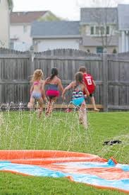 kick off summer right with an h2ogo water slide 730 sage street