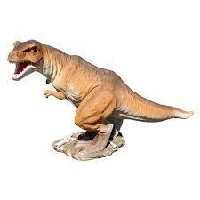 design toscano scaled jurassic t rex raptor dinosaur statue