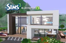 modernday houses the sims 3 house designs modern villa youtube