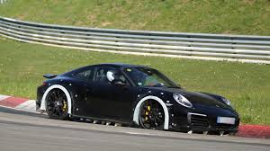 generation porsche 911 porsche 911 chassis testing mule arrives at the ring