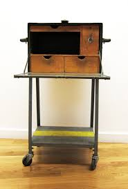 Metal Shop Desk Spoils Of Brimfield U S Army Field Desk A Continuous Lean