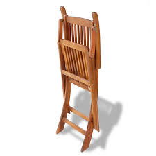vidaxl wooden outdoor dining set 6 chairs 1 oval table vidaxl com
