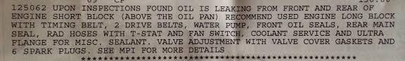 2003 honda odyssey engine oil leak i have a 2003 honda odyssey