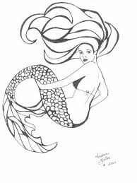 mermaid tattoo design photos pictures and sketches tattoo
