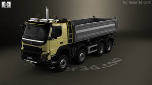 volvo truck store 360 view of volvo fmx tipper truck 2013 3d model hum3d store