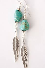 silver feather earrings best 25 turquoise earrings ideas on turquoise jewelry