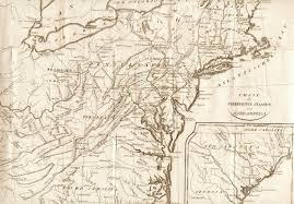 Pennsylvania On A Map by 1800 U0027s Pennsylvania Maps