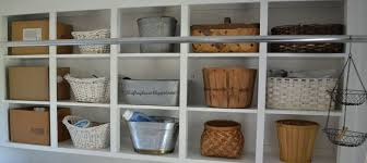 Cabinets For Laundry Room How I Organized My Open Cabinets In The Laundry Room Cheap Hometalk