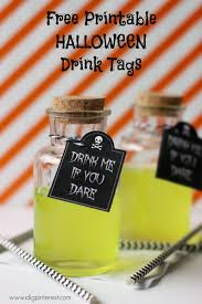 Free Printable Halloween Decorations Kids Drink Me If You Dare Free Printable Halloween Tags Serve This