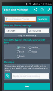 message android how to send error blocked text message with app