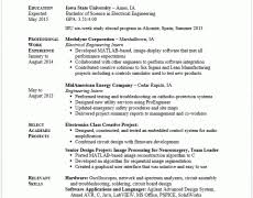 student resume templates 19 examples exmples collge high