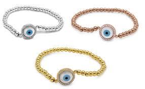 rose bracelet charm images Back to the future llc evil eye charm bracelet round mother of jpg