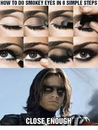 How To Do Memes - how to do smokey eyes in 8 simple steps close enough meme on me me