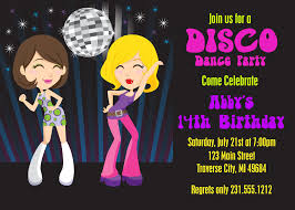 disco party invitations u2013 gangcraft net