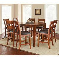 sam s club kitchen table roslyn 7 piece counter height dining set costco new kitchen table