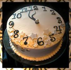 New Years Clock Decorations by 41 Best New Year U0027s Eve Cakes Images On Pinterest New Year U0027s Cake