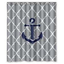 the best anchor shower curtains you can buy beachfront decor