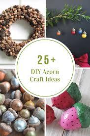 acorn craft ideas the idea room