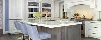 Transitional White Kitchen - transitional white kitchen with ash gray island u2013 tedd wood llc