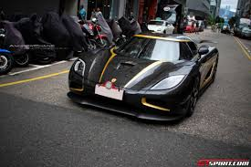 koenigsegg one gold koenigsegg agera hundra arrived in hong kong gtspirit
