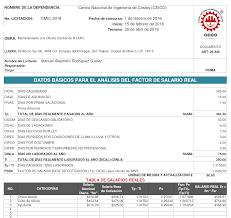 calculadora de salario diario integrado 2016 cmic cálculo del factor del salario real para licitaciones de obra