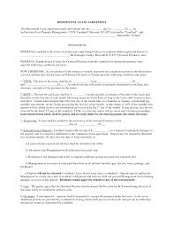 Commercial Real Estate Lease Template by Printable Sample Residential Lease Form Laywers Template Forms