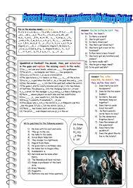 35 free esl harry potter worksheets