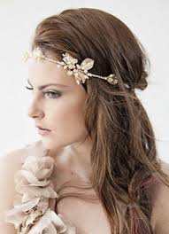 goddess headband delicate gold or silver leaf headband goddess door vibejewels