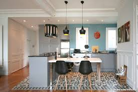 photo cuisine semi ouverte cuisine semi ouverte with éclectique cuisine décoration de la
