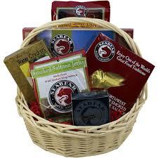 salmon gift basket smoked salmon seafood gourmet food gift basket gift