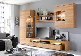 Wohnzimmerschrank Trends Moderne Wohnwand Mit Viel Stauraum Stumm Geschaltet Auf Wohnzimmer