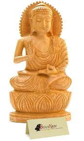 amazon com souvnear thai buddha meditating peace harmony statue