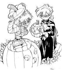 Halloween Pictures Coloring Pages Halloween Coloring Pages For High For Halloween Coloring