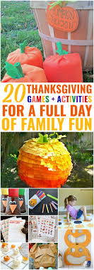 20 diy thanksgiving activities for a day of family
